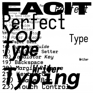The FACIT Model OPS Typeface Design