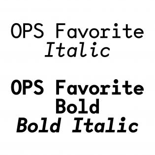 OPS Favorite