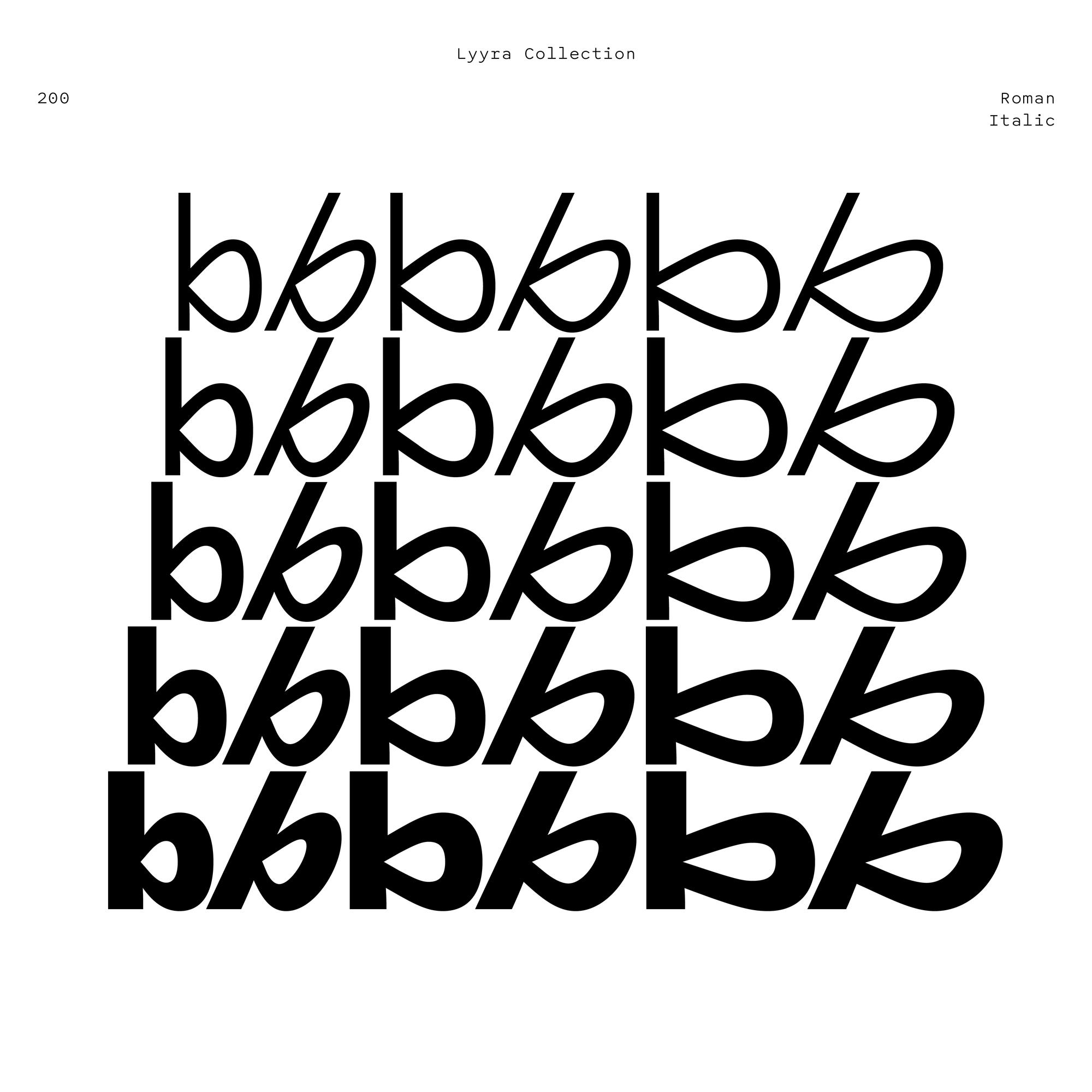 Lyyra fonts