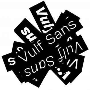 Vulf Sans fonts specimen